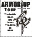 Armor Up Tour image for SWM donate page